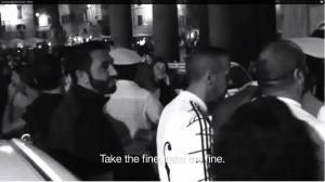 Madonna ha richiesto delle riprese durante la proiezione in anteprima a Roma in 4 Piazze Italiane del SecretProject(IO SONO AL 0 E 26)